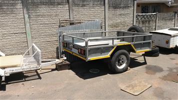 2.5 ton galvanized LCM trailer, used for sale  Durban - Chatsworth