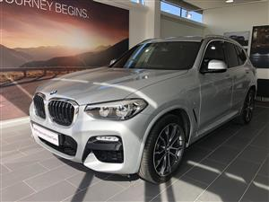 2018 BMW X3 xDRIVE 20d M SPORT (G01)