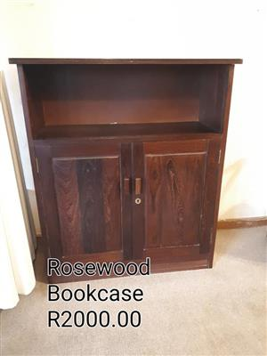 Rosewood bookcase for sale