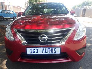 2016 Nissan Almera 1.5 Activ