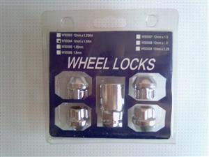Wheel locks WS0084  12mmX1.25RH. Brand new, never used.