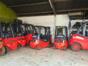 Linde forklifts availible spesiale price this month