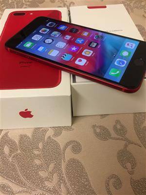 Apple iPhone 8 Plus PRODUCT Red 64gb Unlocked Mint Apple Wrnty 10/2019