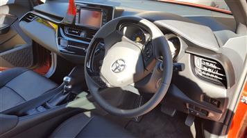 2017 Toyota C-HR 1.2T PLUS CVT