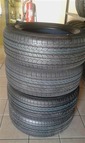 Special on 255/60/18 4x new tyres toyo open country  r5799, for your bakkie or suv,