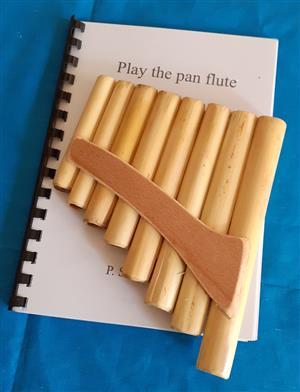 Pan flute & tutor book