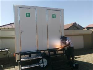 SPECIAL FOR MOBILE VIP REST ROOMS AND COLD ROOM TRAILERS