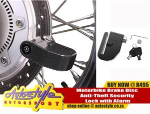 Motorbike Brake Disc Anti-Theft Security Lock with Alarm R495