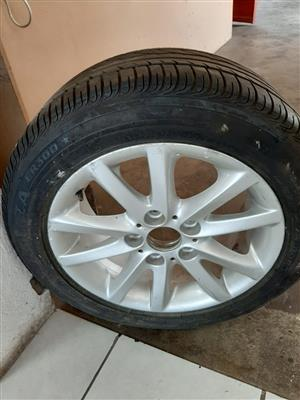 BMW Tyre & Rim