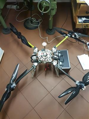 Drone Octa Copter X8