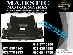 Mercedes benz W203 engine cover plastic for sale