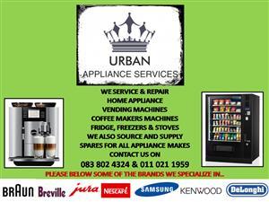 URBAN APPLIANCES SERVICES & REPAIRS