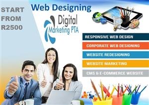From start to finish website design, custom and professional web