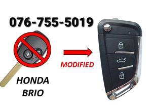 Honda Brio Key Spare