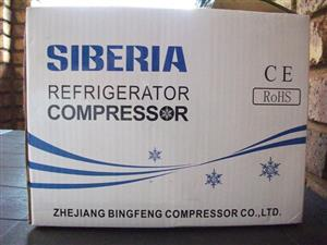 Stukkende yskas kompressor