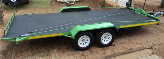 3 Ton Car Trailer Solid Floor