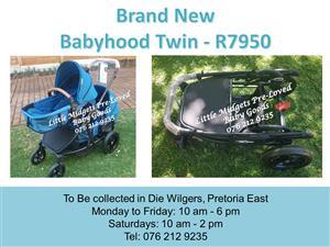 Brand New Babyhood Twin