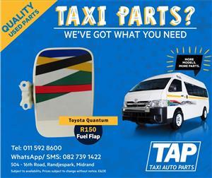 Toyota Quantum Fuel Flap - Taxi Auto Parts quality used spares - TAP