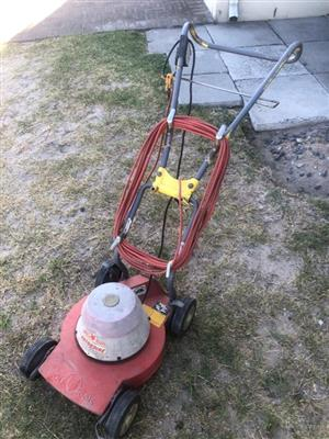Wolf Electric lawnmower - priced to clear