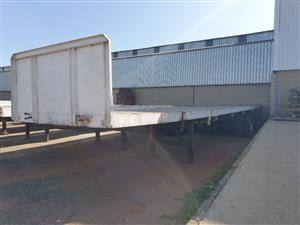 2006 Swift Tri-axle Flatdeck Trailer - (Viewing by appointment only)