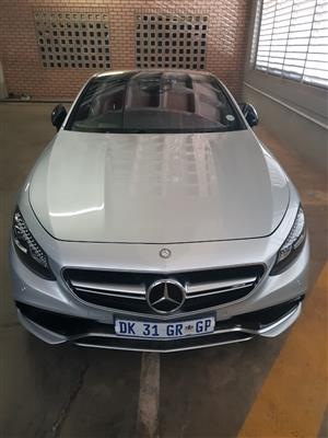 2014 Mercedes Benz S-Class coupe AMG S63 COUPE