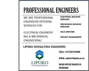 PROFESSIONAL ELECTRICAL AND MECHANICAL ENGINEERS