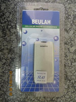 Cell Phone Battery - Compatible with Siemens SL45 Li-ion 550mAh