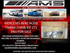 MERCEDES BENZ W203 271 TIMING CHAIN KIT FOR SALE