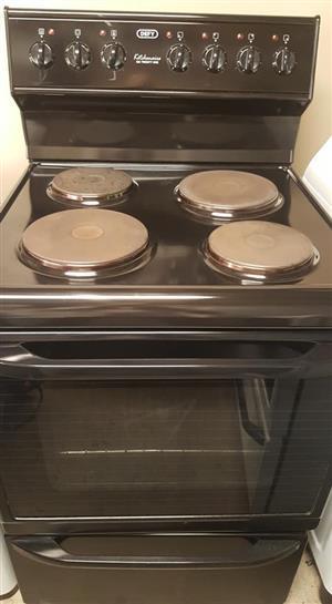 Defy black 621 stove