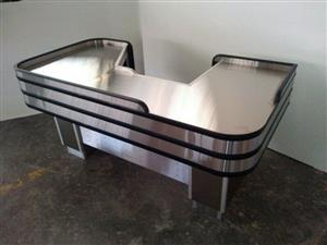 Stainless Steel Checkout Counters