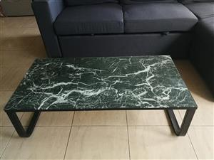 Marble coffee table for sale.