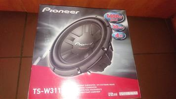 "Brand new 12"" pioneer 1400watt 4ohm"