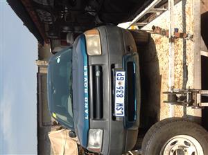 Selling Land Rover Freelander 2001 for Rebuild