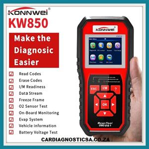 OBD2 Scanner KONNWEI  Auto Diagnostic Code Scanner Car Engine Fault CAN  (Upgraded Version) NOW IN STOCK!!