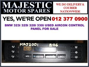 Bmw 323i 325i 328i 330i used aircon control panel for sale