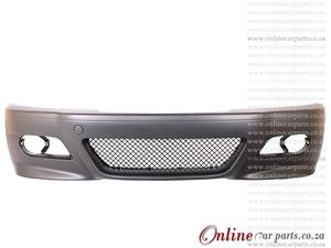BMW E46 3 Series Front Bumper Plastic And Mesh