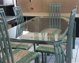 7 piece dining room suite S031778A #Rosettenvillepawnshop