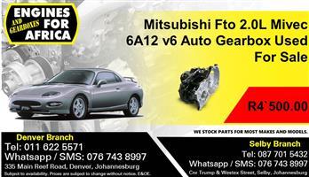 Mitsubishi Fto 2.0L Mivec 6A12 v6 Auto Gearbox Used For Sale.