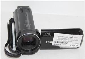 Canon video camera with charger , 2 x batteries and hdmi cable in bag S032249A #Rosettenvillepawnshop