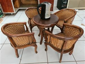 Antique Mini Table & Chairs Set