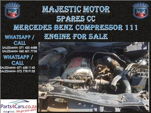 Mercedes benz kompressor engine for sale