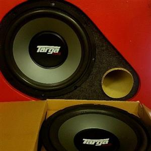 "12"" Targa Thump series TG-124S"