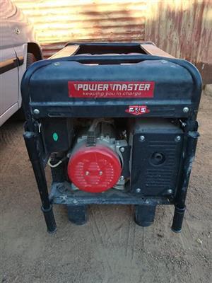 Power master 6.5kva generator