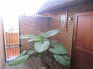 Secure room with own entrance