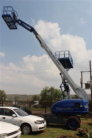 VerticalZA JLG660SJ - 22m Boom Lift Cherry Picker, TELESCOPIC Manlift