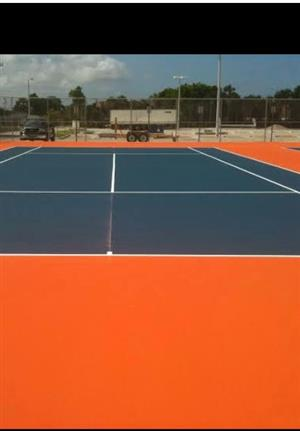 TENNIS COURTS SA DESIGN