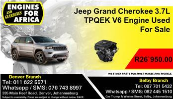 Jeep Grand Cherokee 3.7L TPQEK V6 Engine Used For Sale.