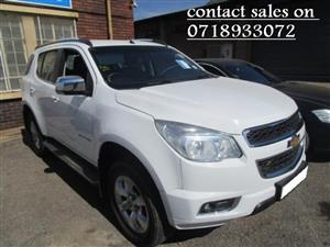 2015 Chevrolet TRAILBLAZER Trailblazer 2.8D 4x4 LTZ auto