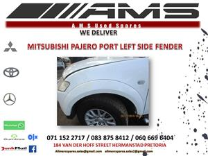 PAJERO SPORT LEFT SIDE FENDER