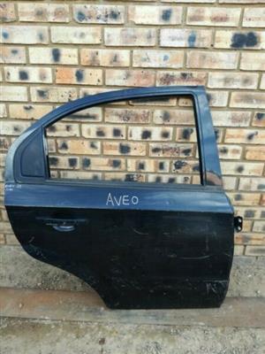 Chevrolet Aveo Right Rear Door  Contact for Price